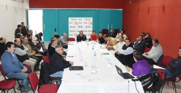 Reunion del Comite Cuenca A 3 en Trenque Lauquen