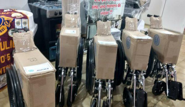 Sillas de ruedas adquiridas en la ultima semana