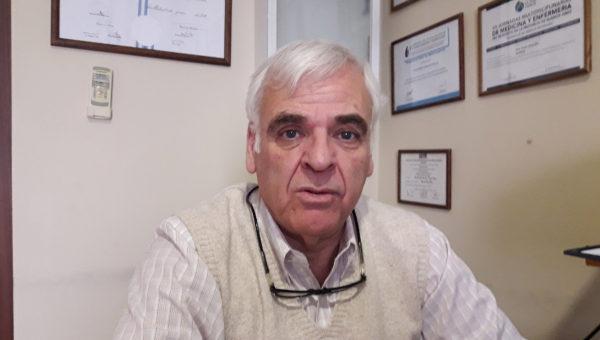 Walter Battistella brindo detalles de la visita de Ricardo Alfonsin