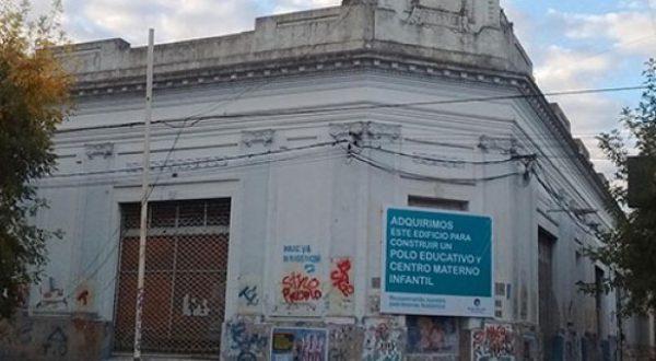 El Polo Educativo sera construido en el edificio del ex supermecado San Cayetano