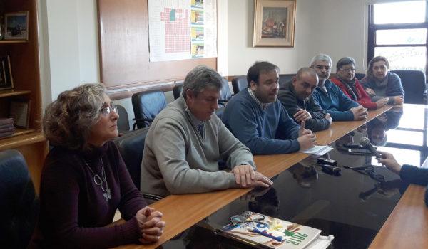 El Consejo de Adminsitracion brindando detalles del presente en la CEyS