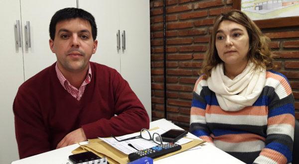 Juan Pablo Filoni y Silvina Poratti