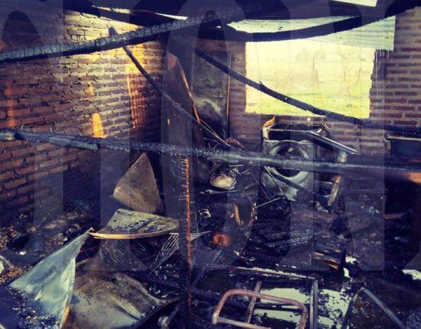 La familia de origen paraguayo perdio todo en el incendio