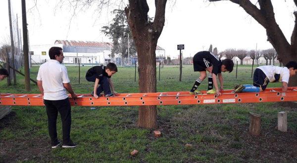 Trabajo de destrezas fueron parte de los juegos en San Martin