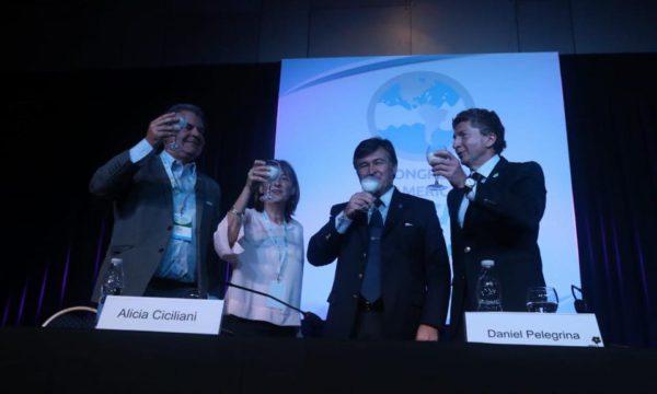 Busso, Ciciliani, Pelegrina y Sammartino en la apertura del Congreso