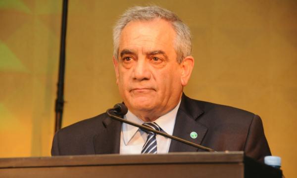 Carlos Iannizzotto, presidente de Coninagro al dar apertura al Congreso
