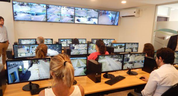 Centro de monitoreo de camaras 9 de julio – foto archivo
