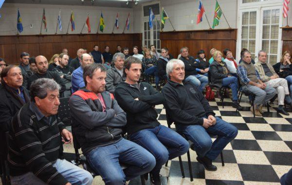 Delegados Municipales y organizadores de fiestas populares se dieron cita en la reunión