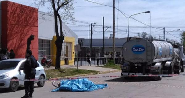 El accidente se produjo frente a un Jardin de infantes