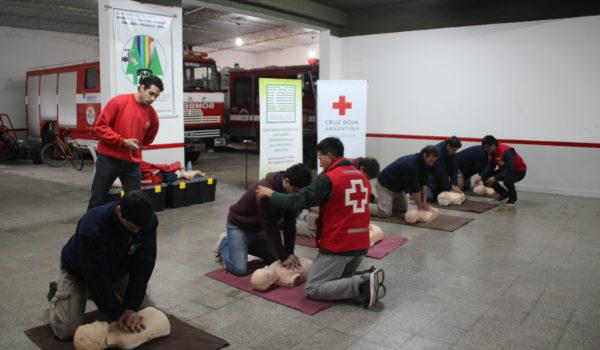En Bomberos Voluntarios de Quiroga