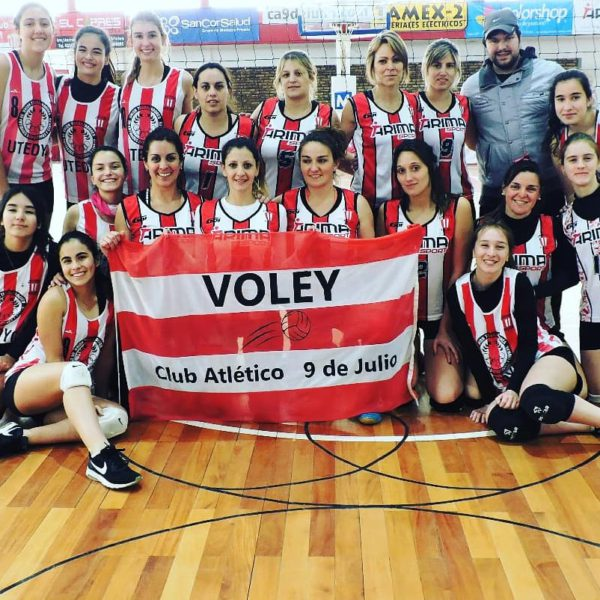 Equipo de Voley Femenino de Atletico 9 de Julio