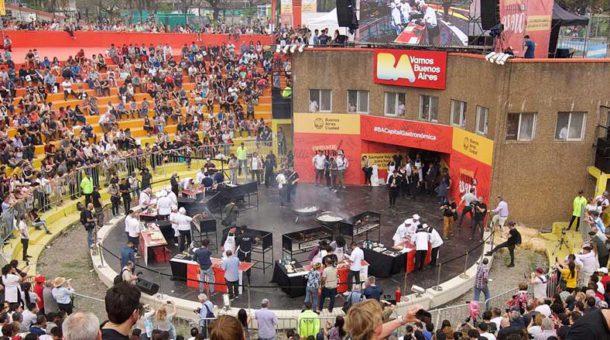 Estadio del asado donde se desarrollo el evento