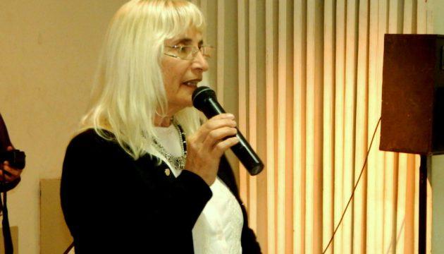 Graciela Vadillo al dirigirse a productores rurales y vecinos de la ciudad y localidades