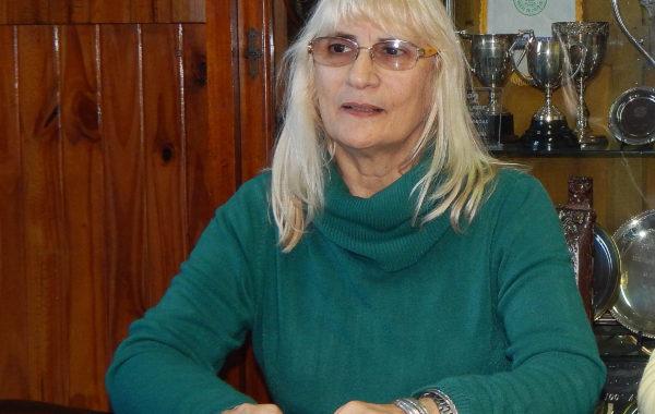 Graciela Vadillo presidente de Sociedad Rural de 9 de Julio brindo detalles de la 121 Expo Rural