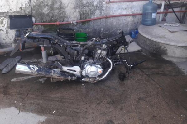 Hurto de motocicleta