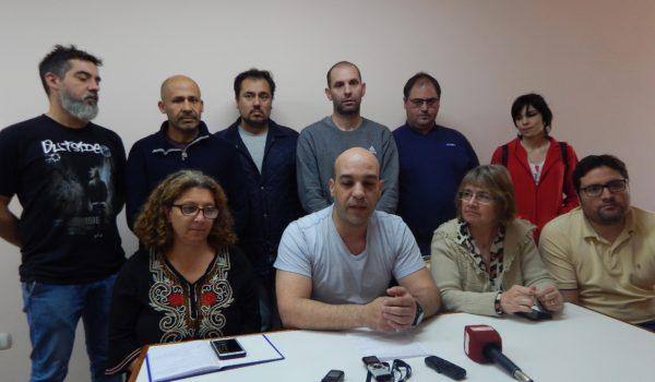 Integrantes de la Mesa Inter Sindical de 9 de Julio, convocan a los vecinos a adherir al paro