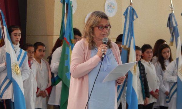 Liliana Vallabriga Inspectora Jefe distrital de 9 de Julio