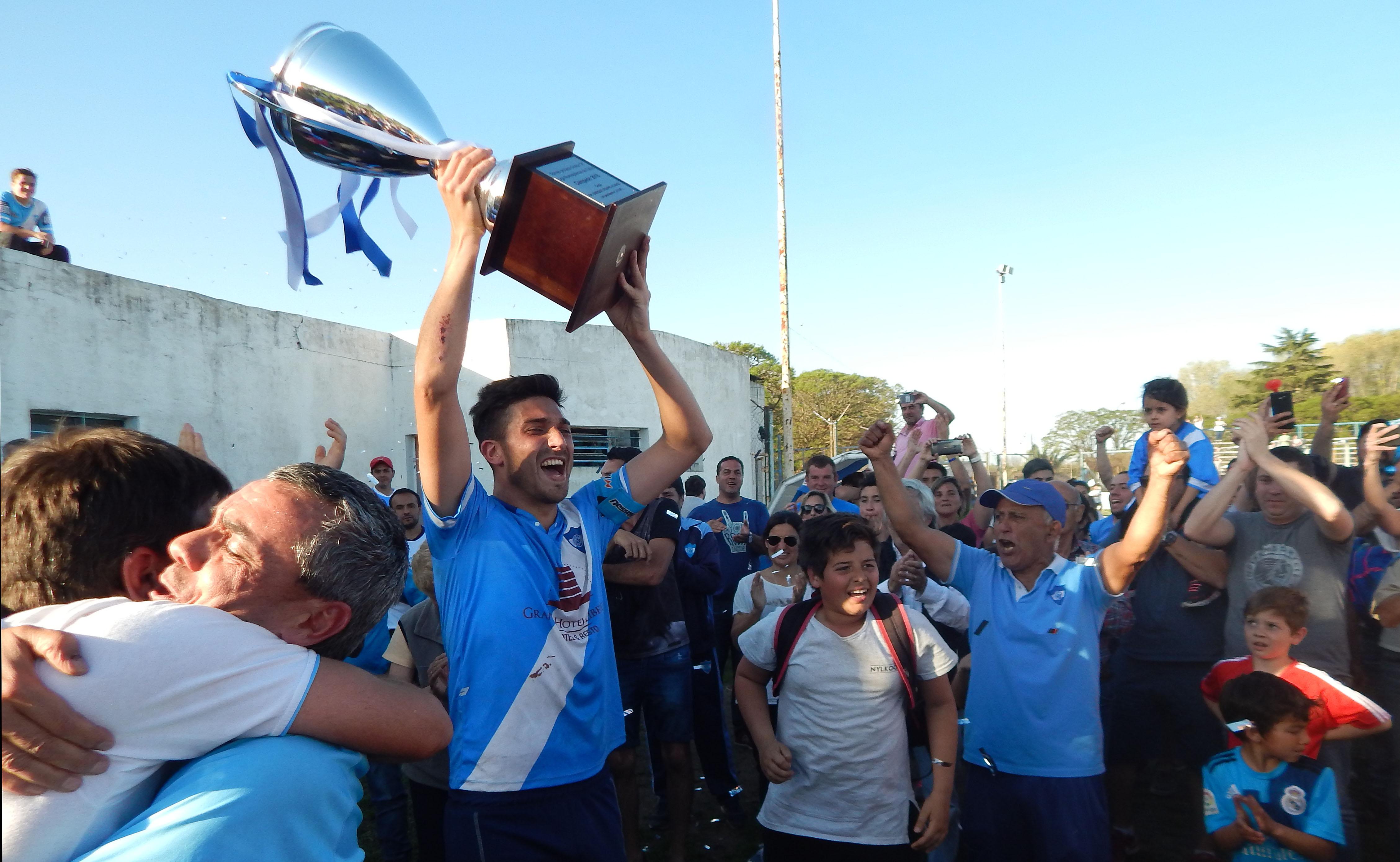 San Martín se consagro campeón de la Liga Nuevejuliense de Fútbol