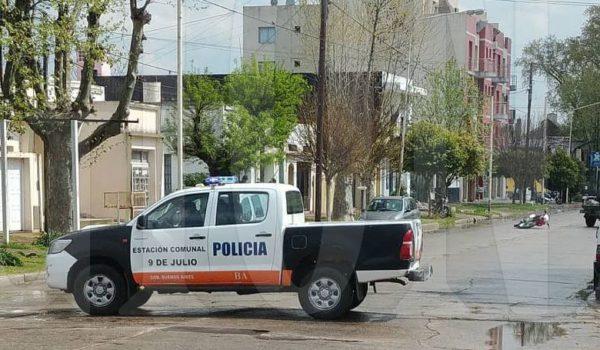 Se corto el transito sobre calle Cosentino