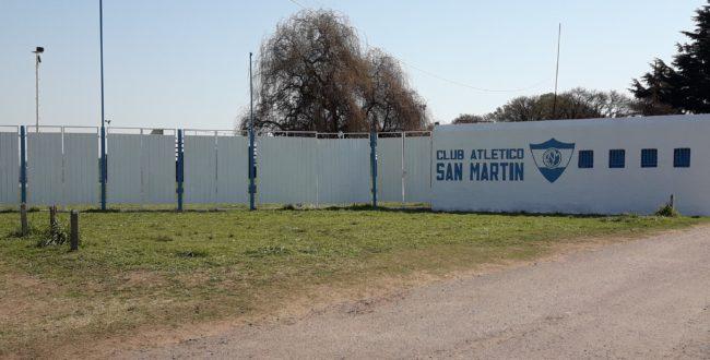 Sector Boleteria donde se colocara el cartel que se usara en la vieja cancha de San Martin