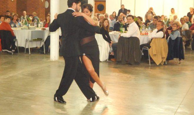 Show de tango en la 38 Fiesta del agricultor