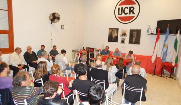 Una de las tantas reuniones que se dieron este año por lograr una lista de unidad y el rol de UCR en Cambiemos