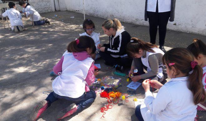 Acitivad de los alumnos sobre lectura en Escuela 24