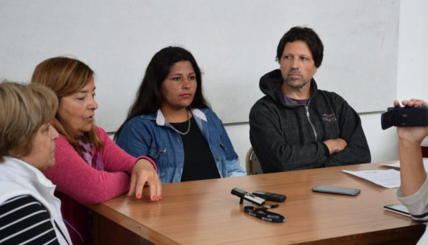 Ceregido y Galvani junto a integrantes de la Confederacion de Centros Tradicionalistas