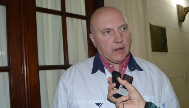Edgardo Perez presidente del Colegio de Farmaceuticos de 9 de Julio