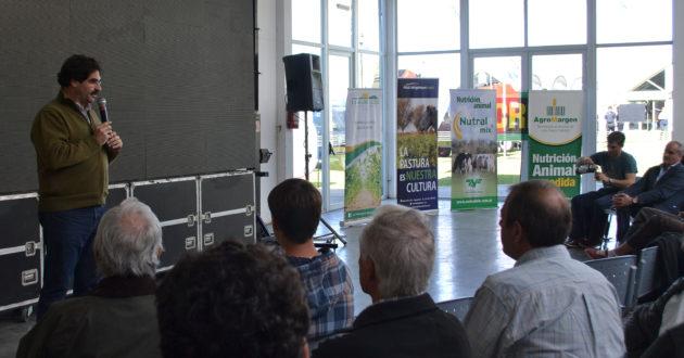 El Ministro Sarquis visito la JAT y dejo su mensaje a los tamberos del Oeste bonaerense