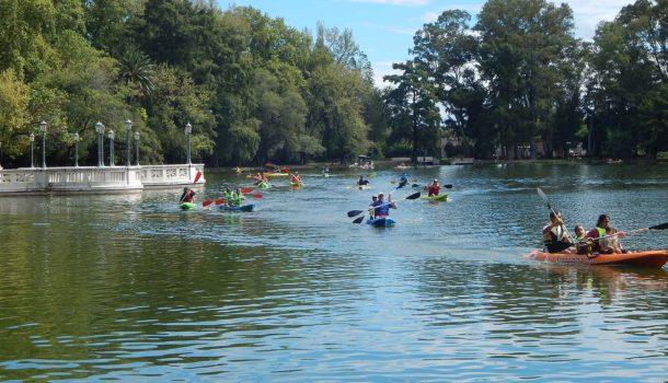 El Parque Gral San Martin propone distintas actividades para disfrutar en familia