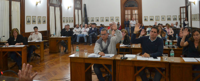 Los Concejales de Cambiemos con su voto mayoritario impusieron su proyecto
