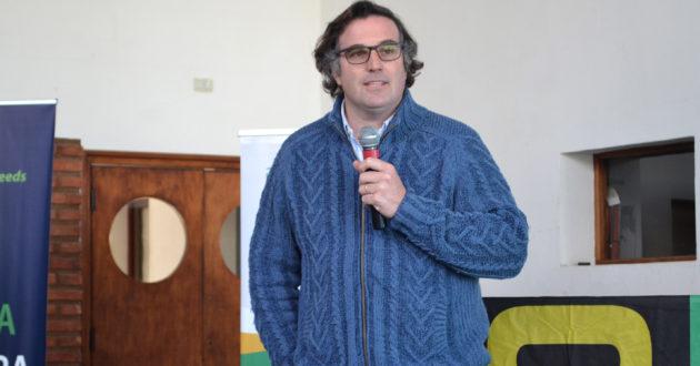 Marcos Lugano, presidente del CREA 9 de Julio lechero
