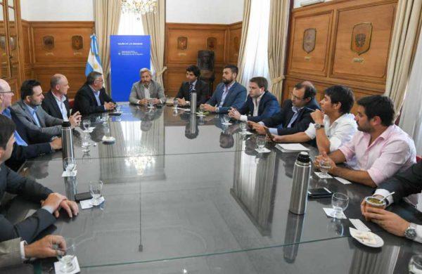 Mariano Barroso asistio a la reunion con Rogelio Frigerio