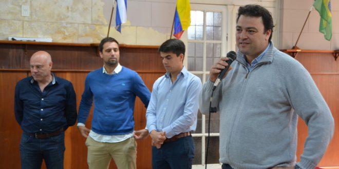 Mariano Barroso recibio a los nuevos Delegados Municipales