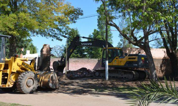 Obras de mejoras en el Playon Municipal