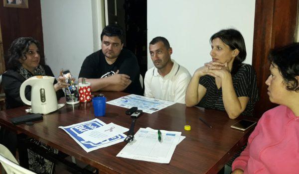 Silvina, Matias, Sebastian, Florencia y Gabriela, mate de por medio dialogaron con El Regional Digital
