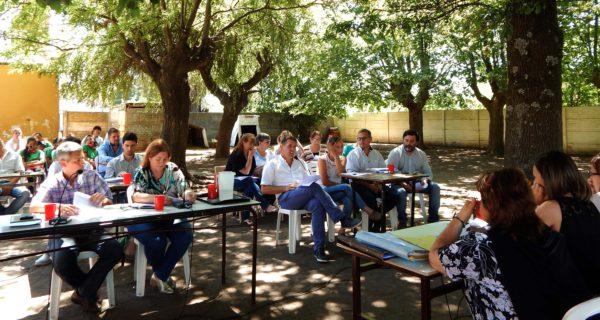 Concejales de 9 de Julio realizaron su sesion al aire libre