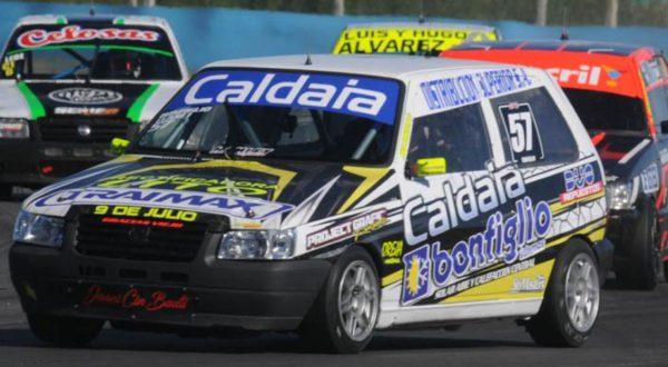 El nuevejuliense Nicolas Bonfiglio hizo podio en el TP
