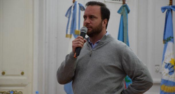 Federico Suarez mantuvo una reunion de trabajo con el Intendente y funcionarios municipales