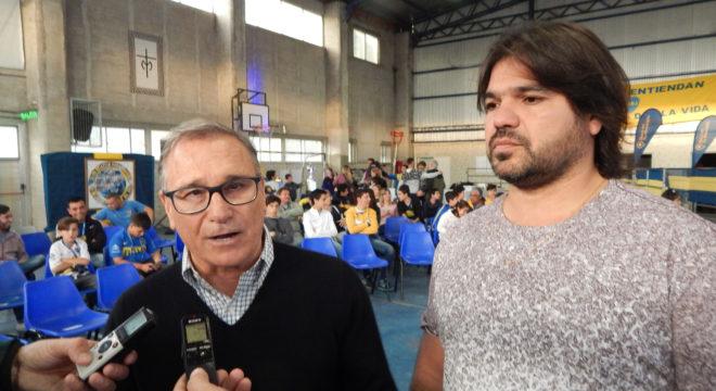 Ferrari y Ercoreca en dialogo con la prensa