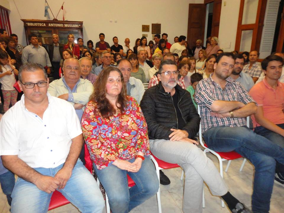 Gesto democrático: La asunción de autoridades en el Comité UCR 9 de Julio se vio matizada con la participación política del PRO y Partido FE