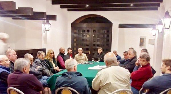Instancia de la reunion comisión Directiva de Sociedad Rural de 25 de Mayo