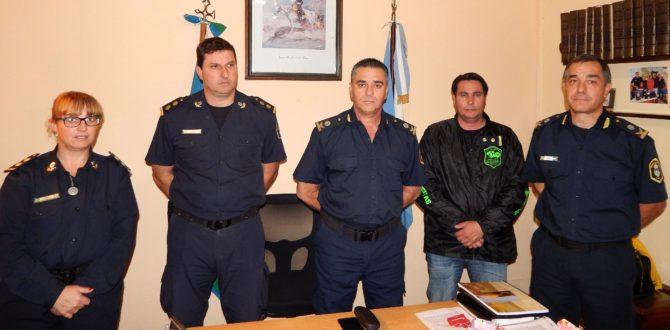 Jefes de policia, Figueroa, Vazquez, Gil, Roldan y Ferrari