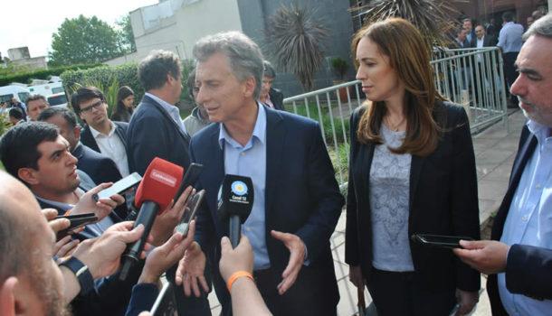 Macri, Vidal y Fernandez