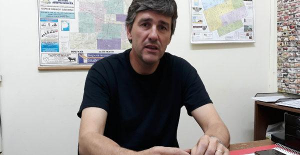 Marcelo De Olavarrieta, titular de la Oficina Senasa 9 de Julio