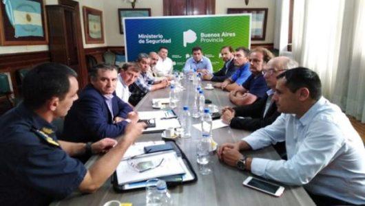 Reunion de federados con el Ministro Ritondo