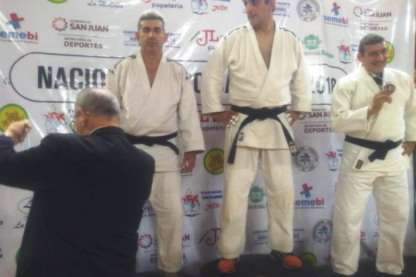 Ricardo Gonzalez sub campeon nacional de Judo