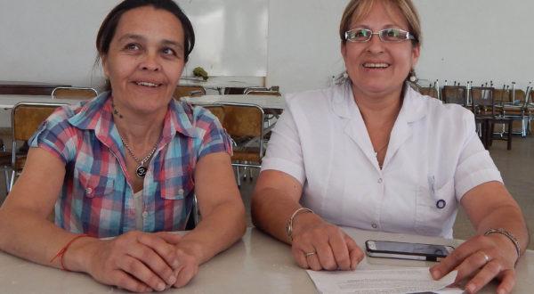 Sandra Alvarez y Marcela Castro brindaron los motivos de porque la movilizacion de enfermeros este miercoles