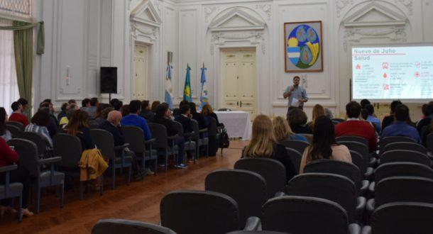 Se llevo adelante una reunion ampliada de gabinete y de la que participaron del Registro Civil y de la CEyS
